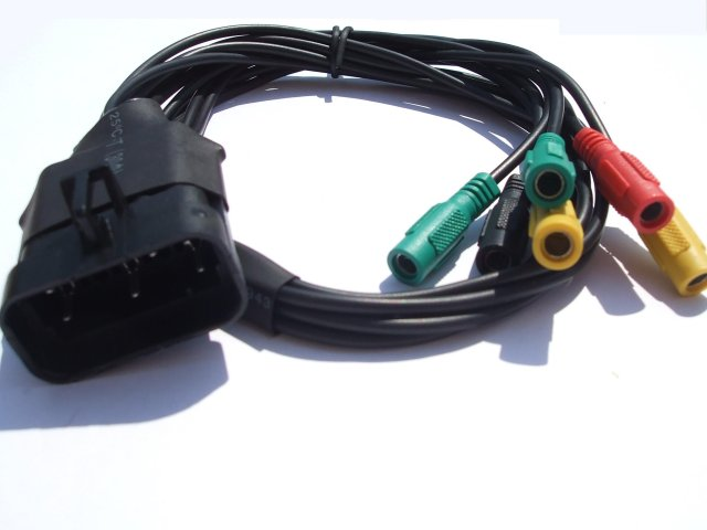 adapter KTS chinch na Opel 10pin